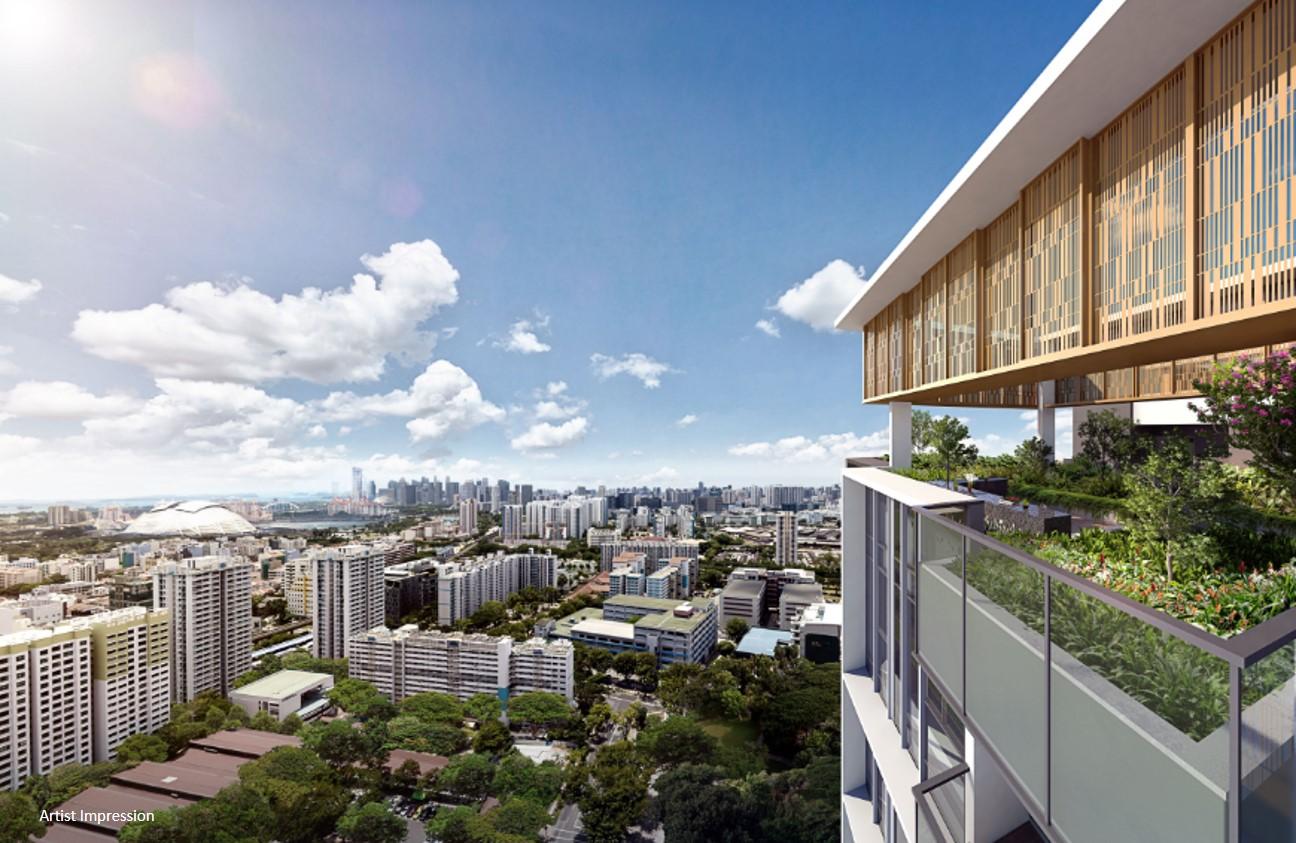 The Penrose Singapore Sky Garden View