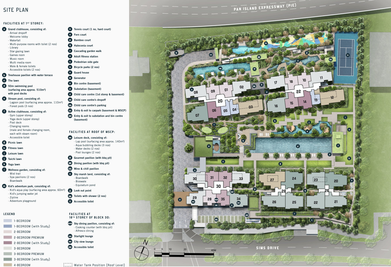 The Penrose Site Plan