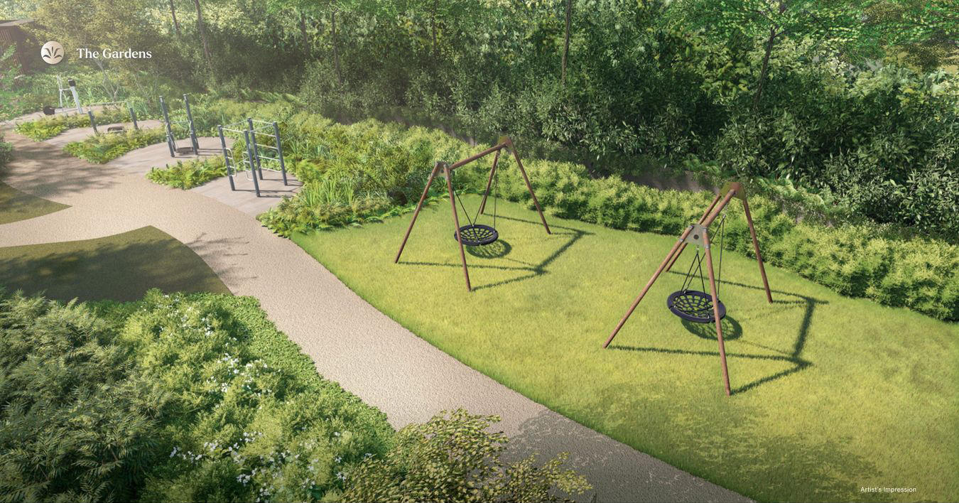 Artist's Impression . The Swing Lawn