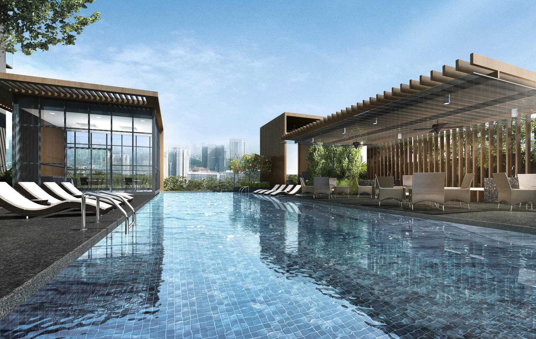 Condominium Pool at Level 5