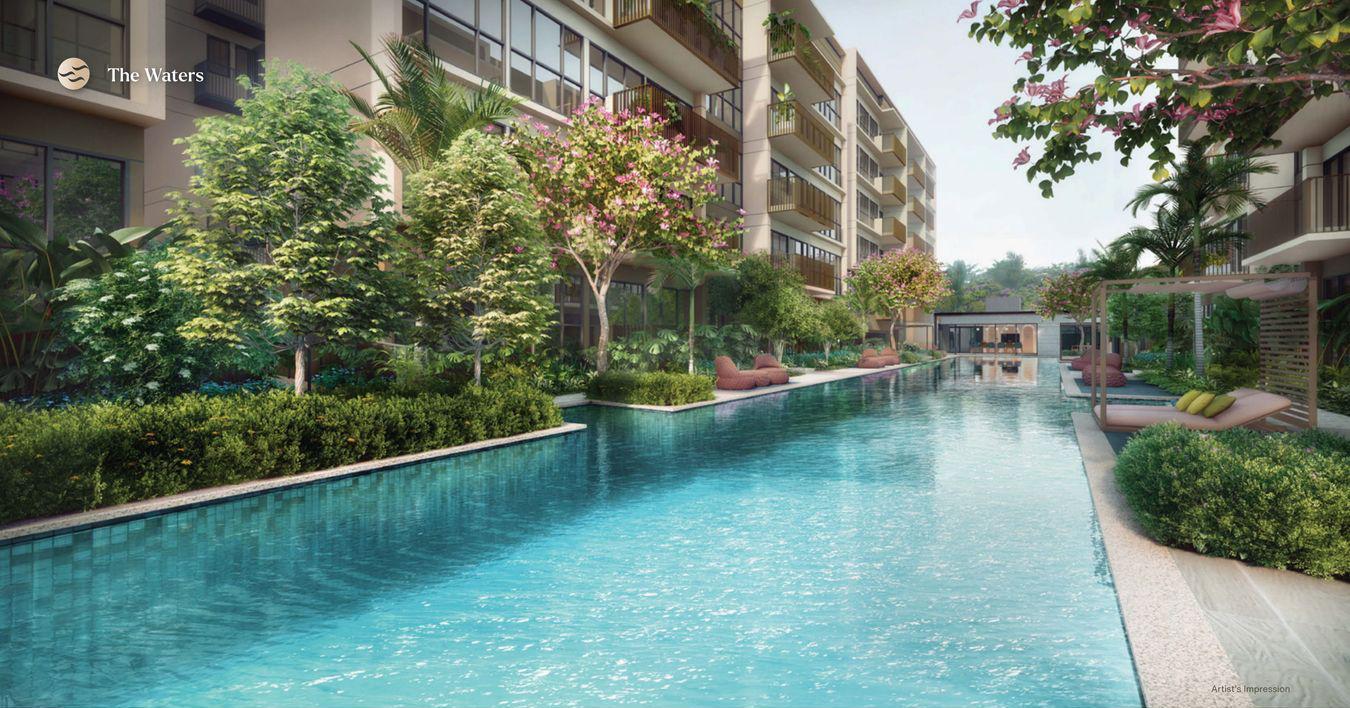 The Watergardens Condo . 50M Lap Pool