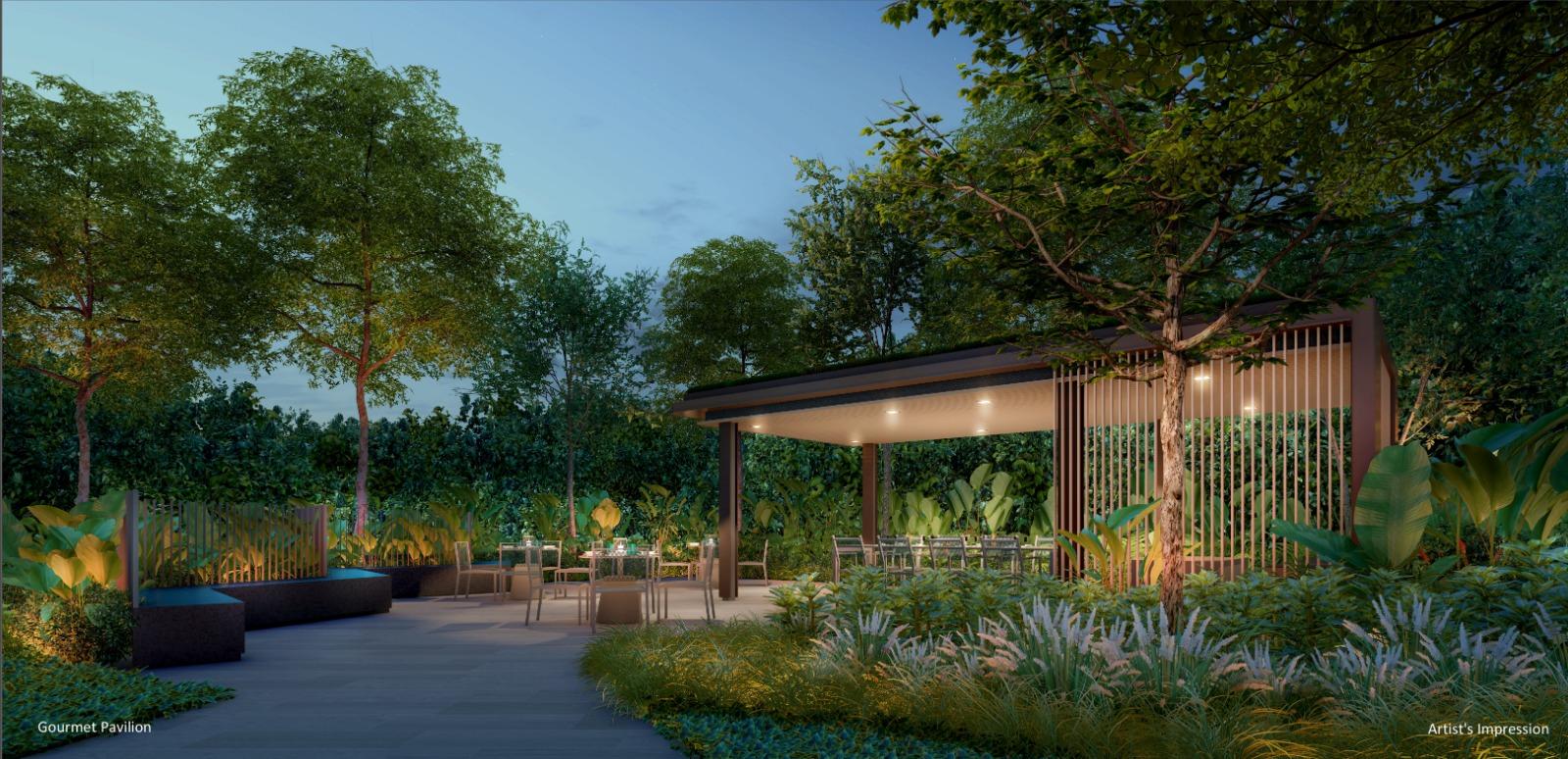 The Watergardens Condo . Gourmet Pavilion