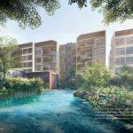 The Watergardens Condominium . Water Jet Terrace