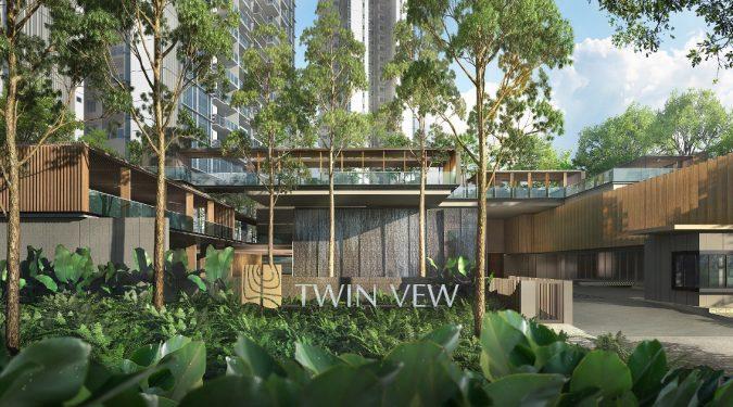 Twin VEW Condo Entrance