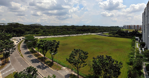 View of the North Gaia EC Site from Yishun Avenue 9