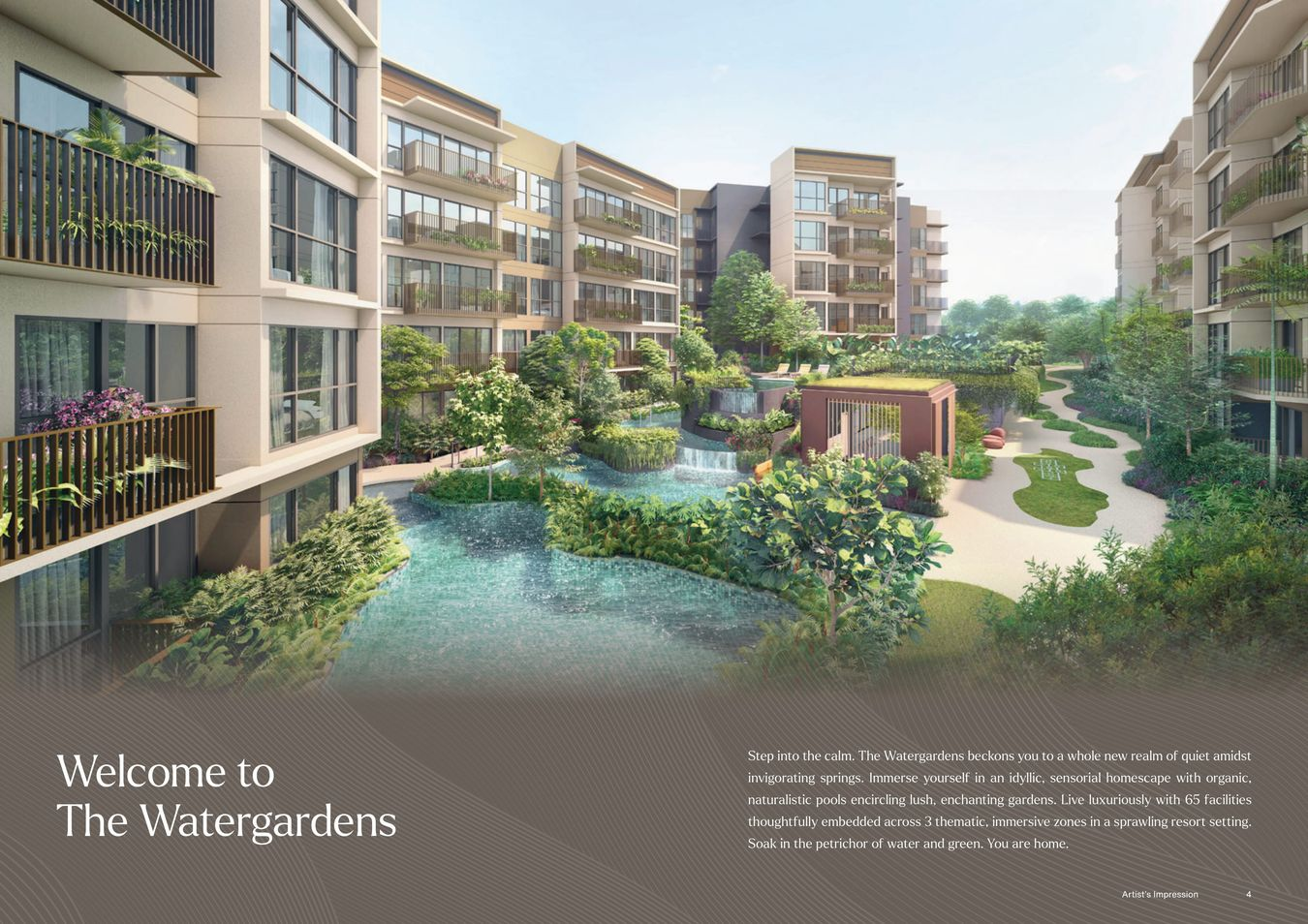 Welcome to the Watergardens Condo