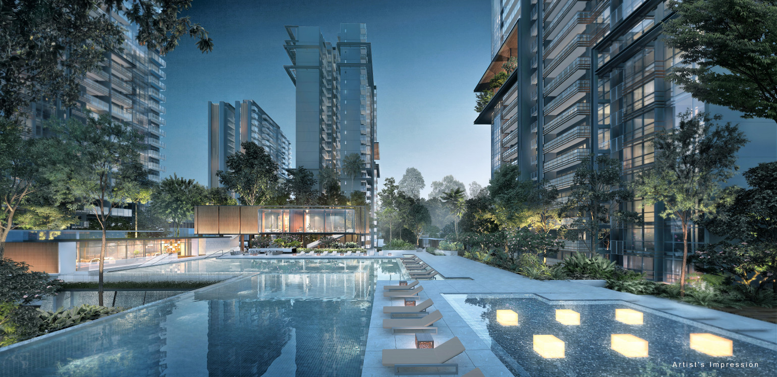 Artist's Impression . The Jadescape Condo