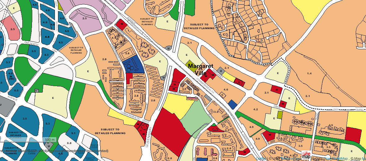 Margaret Ville Condo Location Plan Zoning
