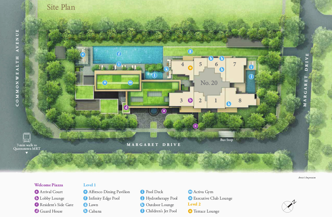 Margaret Ville Site Plan Layout