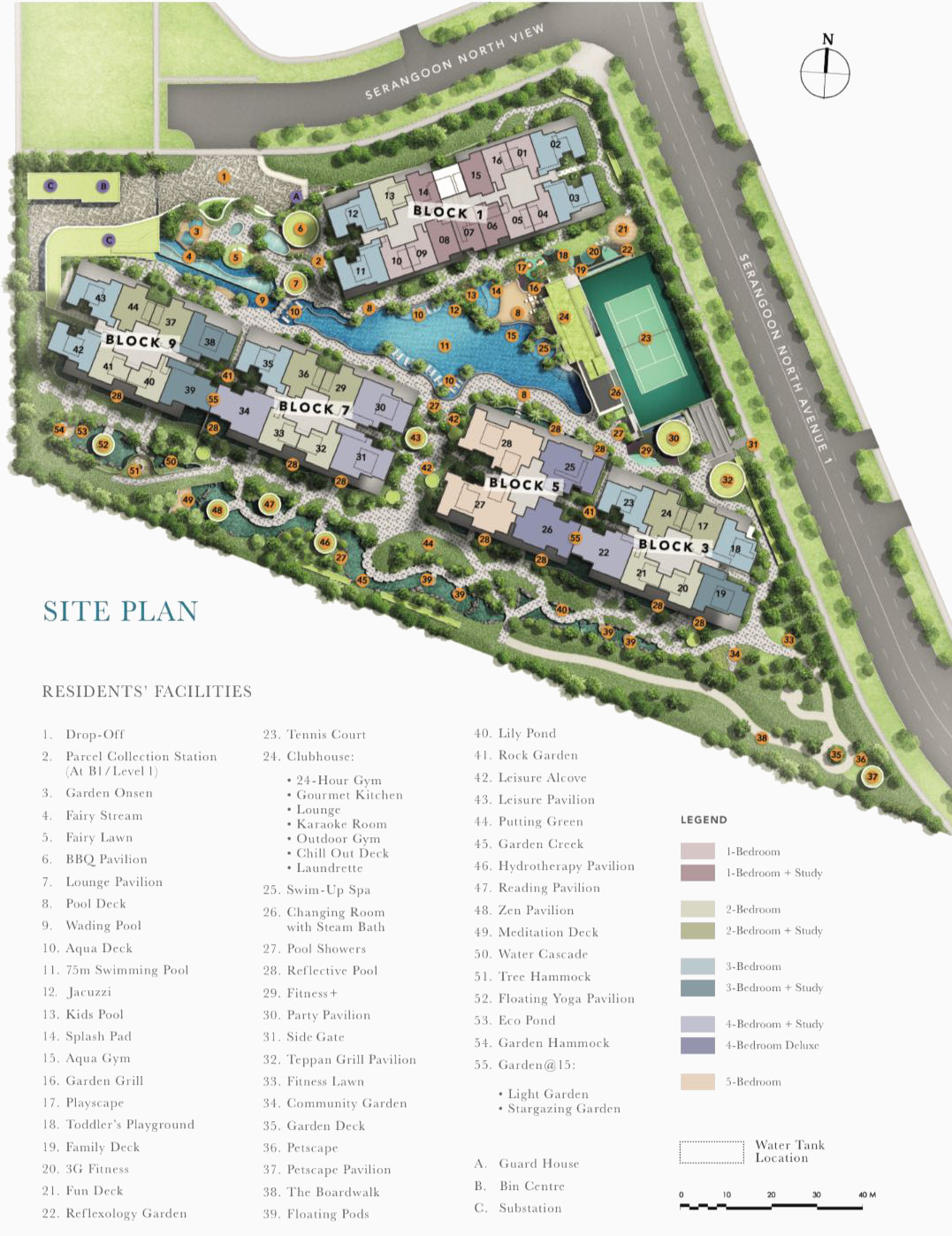 The Garden Residences Site Plan Layout