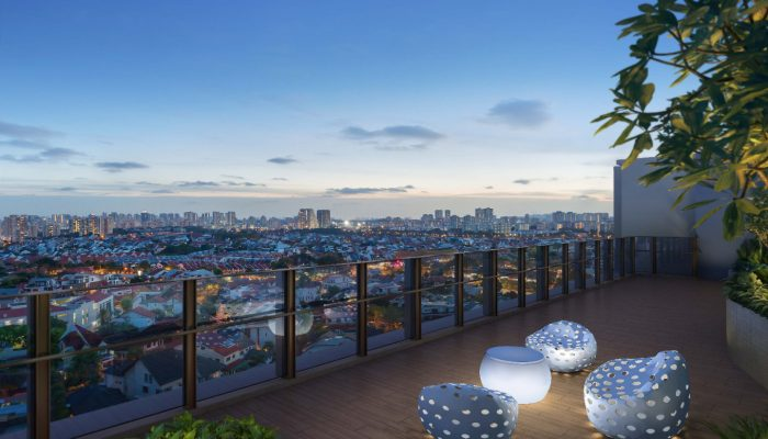 The Garden Residences View