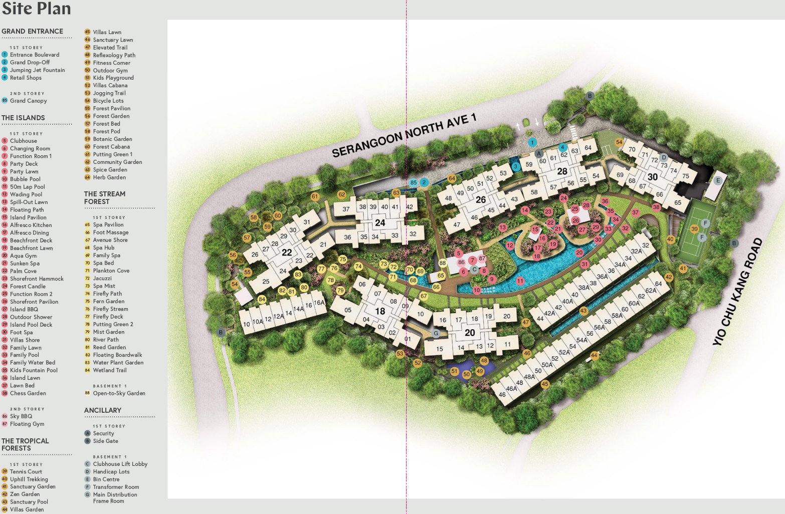 Affinity Condo Site Plan Layout