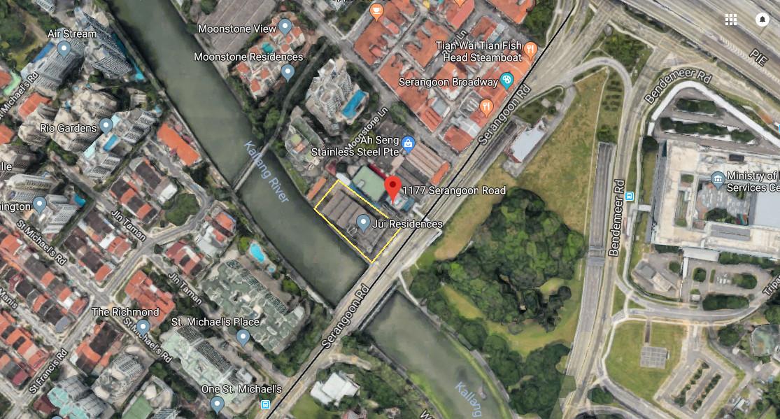 Jui Residences Site . Location Map