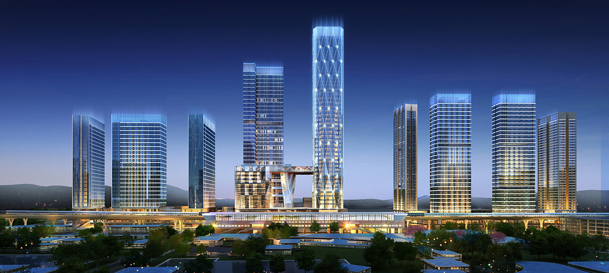 Carat Complex Shenzhen by Logan Property . Developer for Stirling Residences Singapore