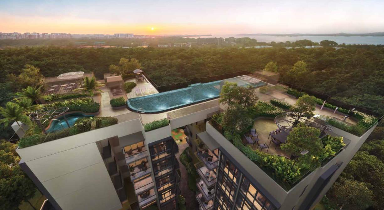 Casa Al Mare Condo . High Floor View
