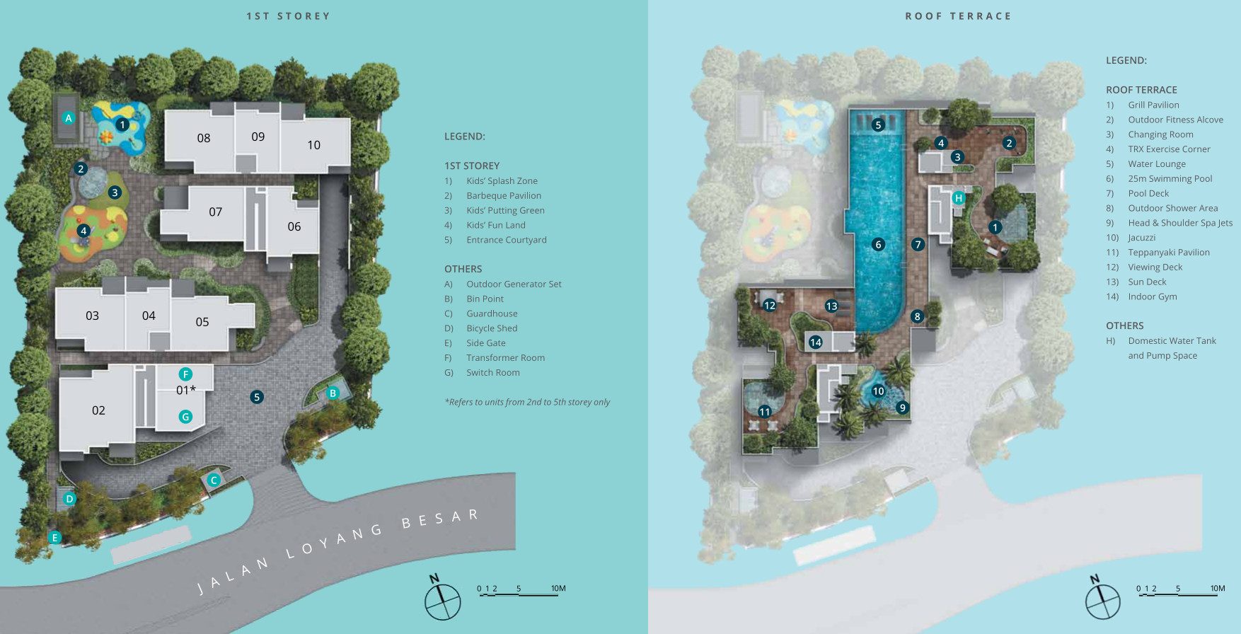 Site Plan Layouts