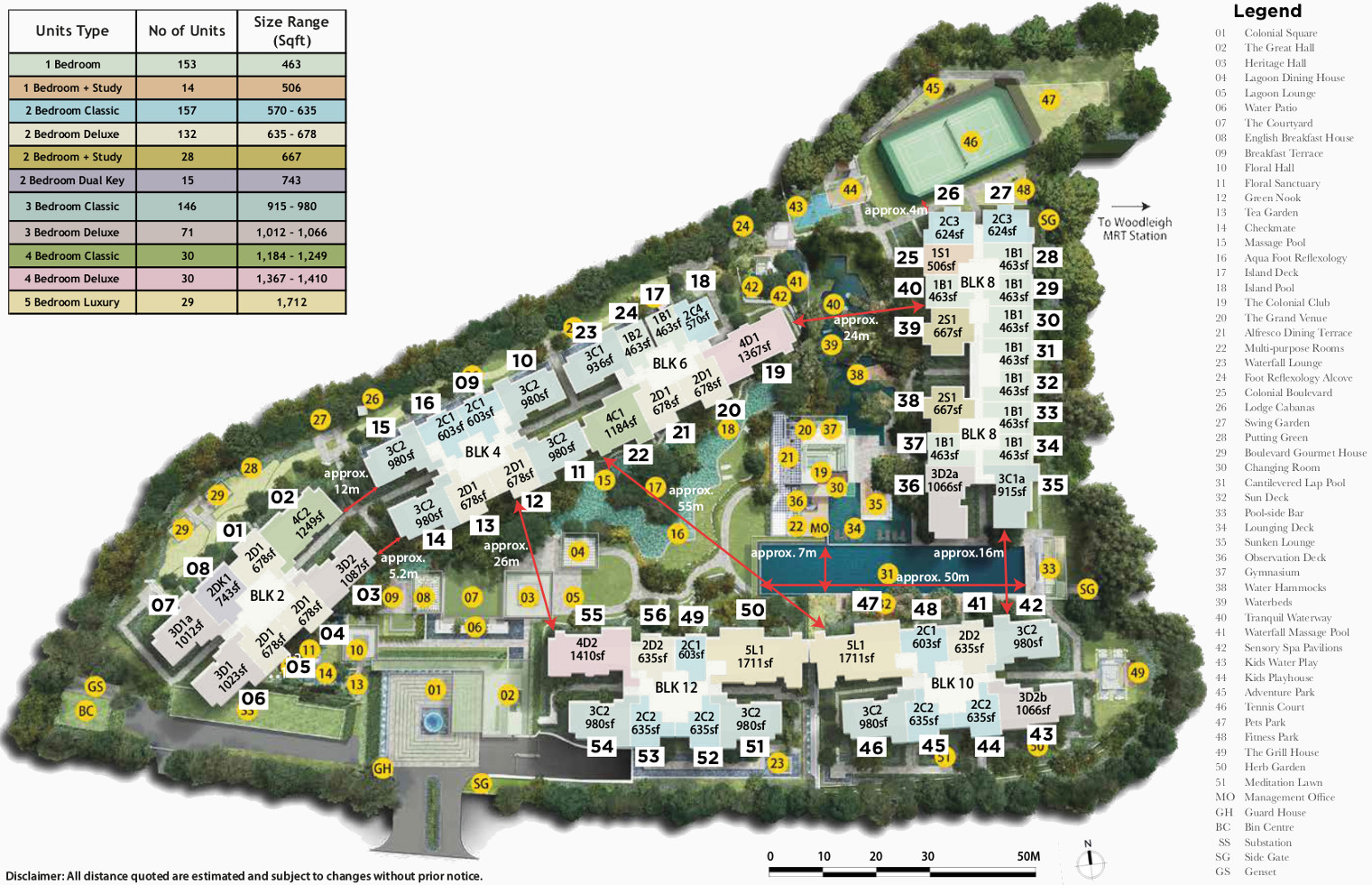 The Park Colonial Condo Site Plan