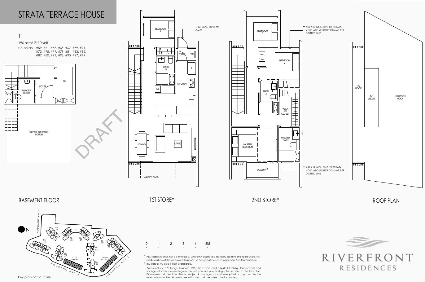 Riverfront Condo Floor Plans Strata Landed House