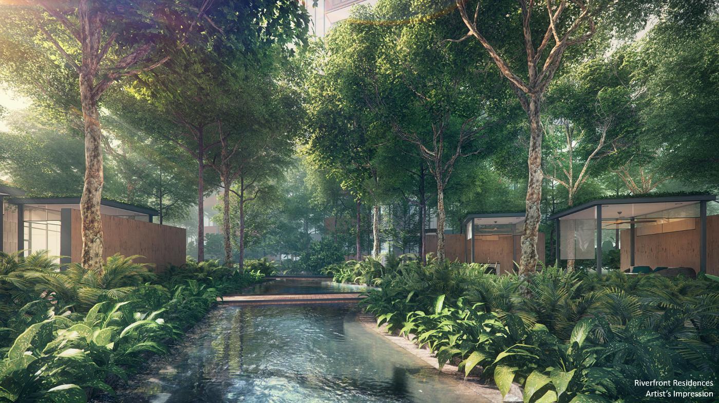 Riverfront Condo Singapore Garden Pavilions