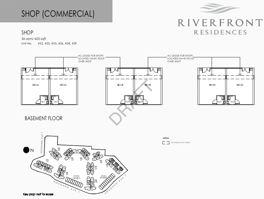 Riverfront Condo Singapore Floor Plan Shops