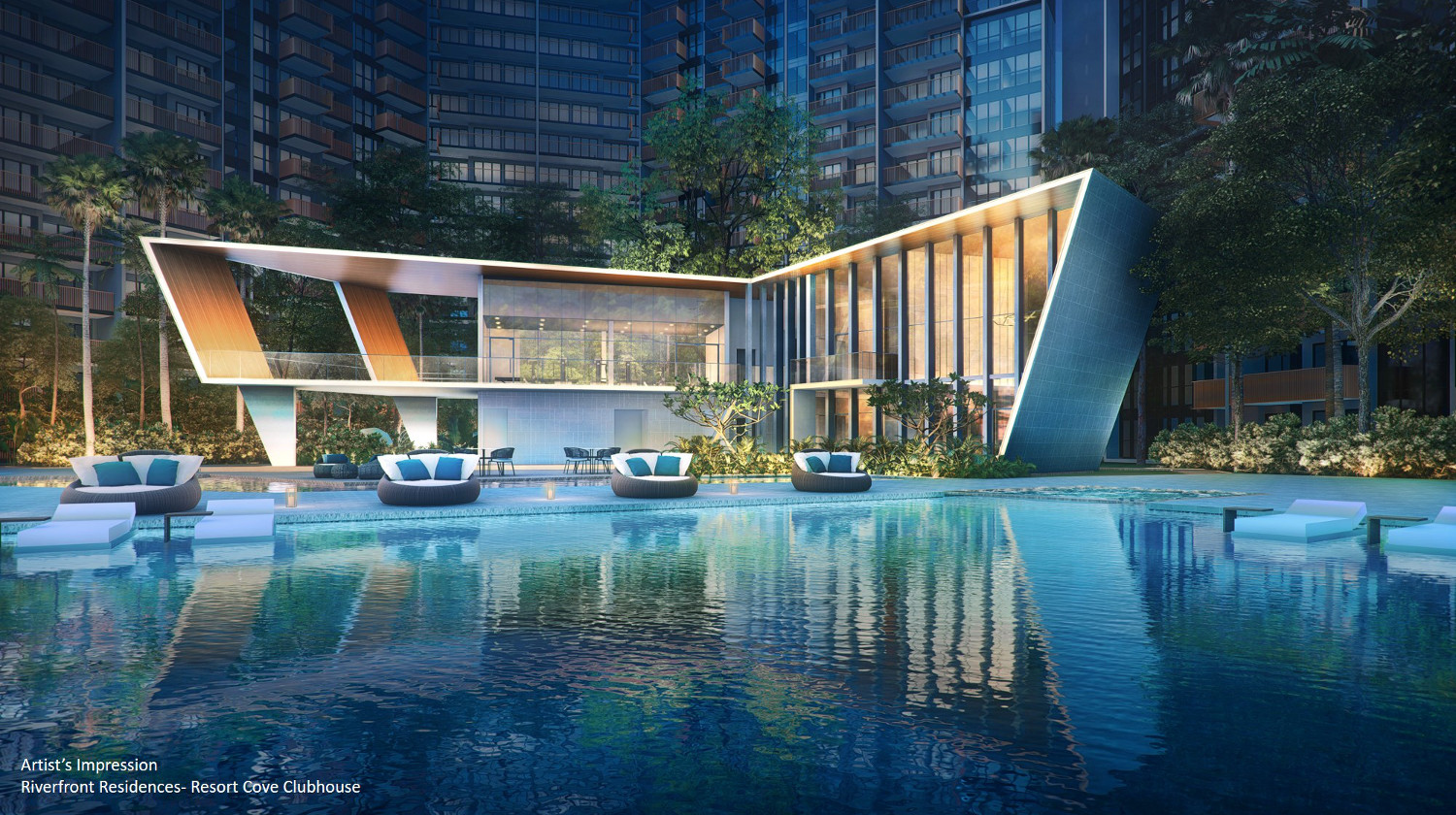 Riverfront Residences by Oxley . Developer for Kent Ridge Hill Residences