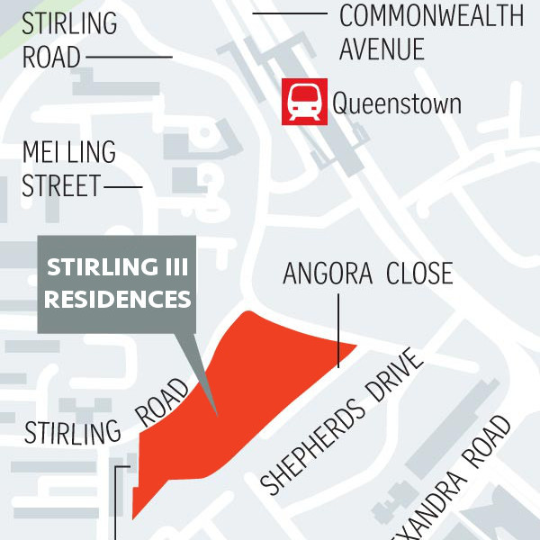 Stirling Residence Location Plan URA