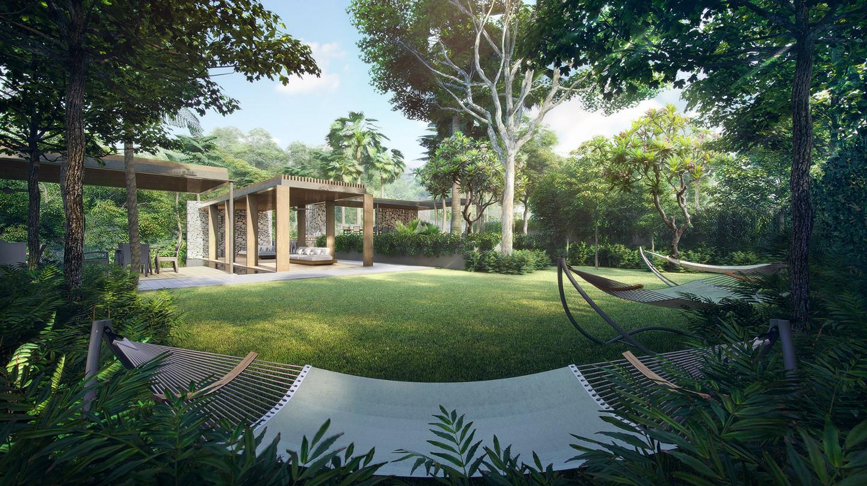 Stirling Residence Hammock Garden