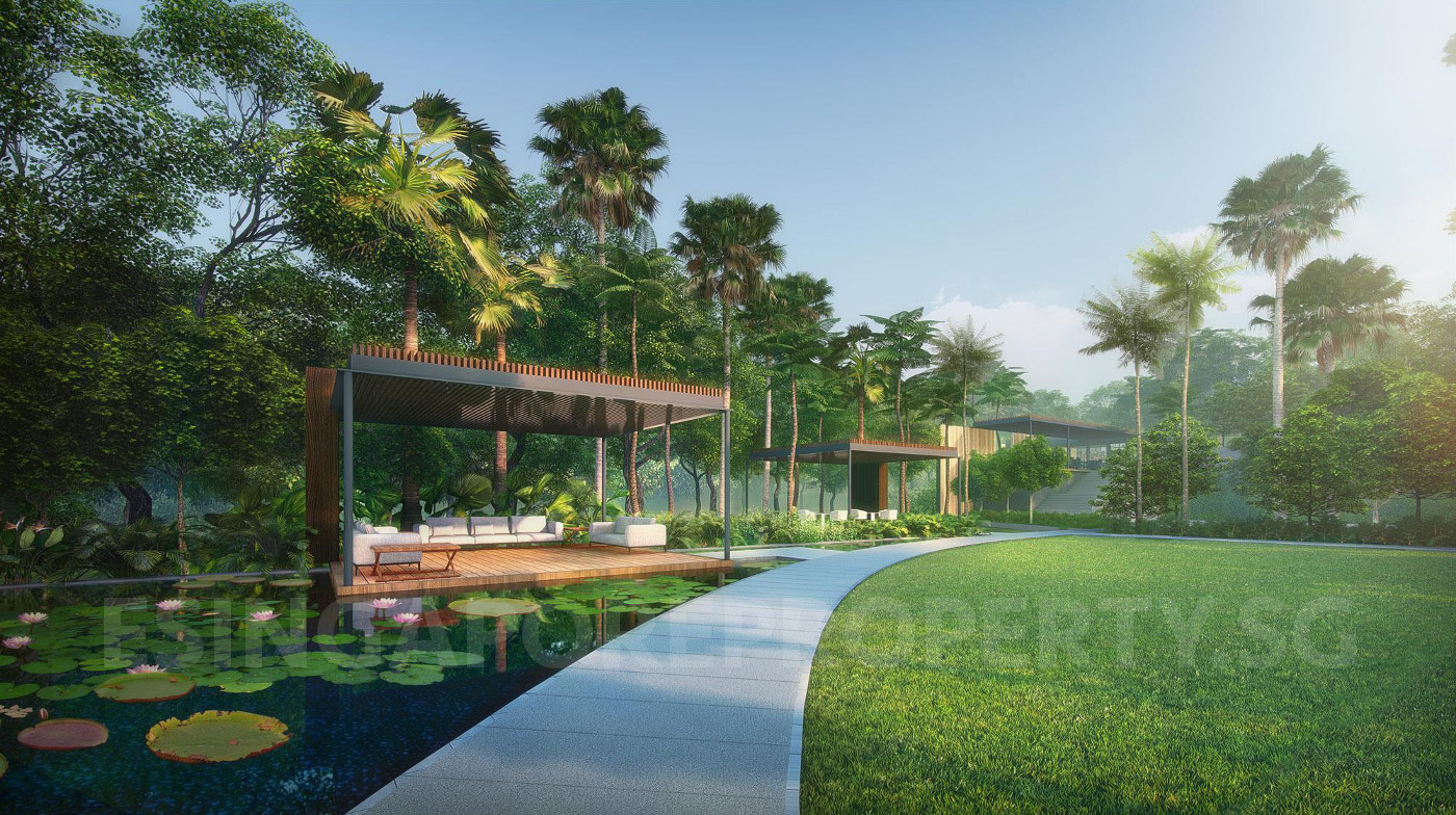 Stirling Residence Singapore . Facilities and Landscaping