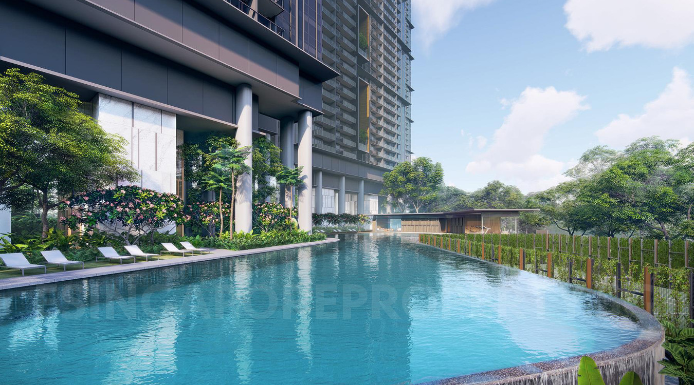 Stirling Condo . Infinity Pool