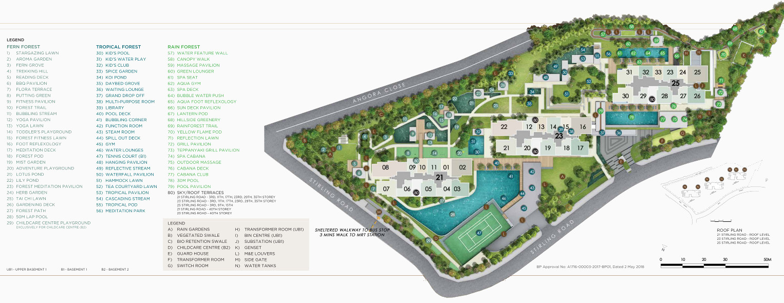 Stirling Residence Site Plan Layout