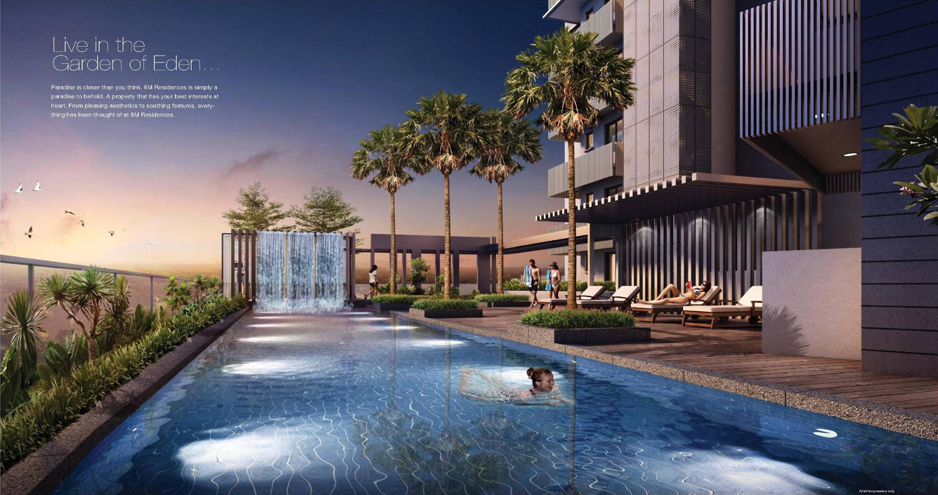 8M Residences by Sustained Land . Developer for Casa Al Mare Condo