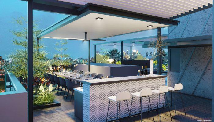 Arena Residences Singapore Sky Dining