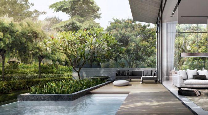 Cluny Park Residence by Tuan Sing . Developer for Botanik Residence