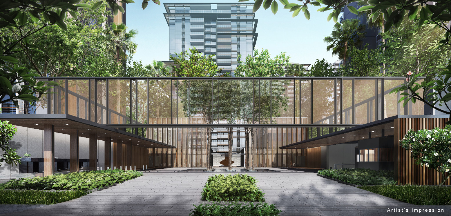 Artist's Impression . JadeScape Singapore . Grand Plaza