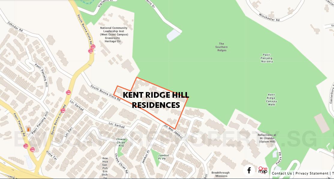 Kent Ridge Hill Site Plan