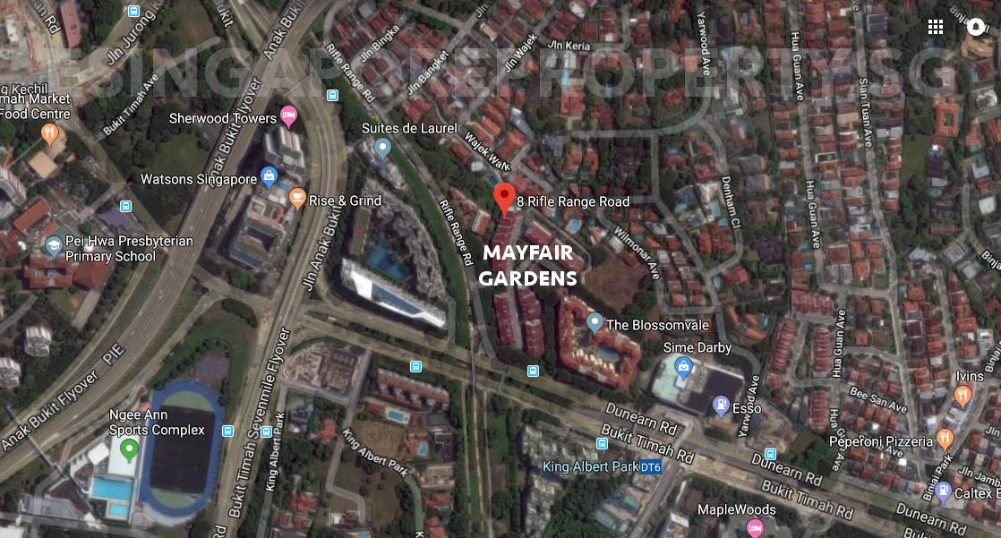 Mayfair Gardens Location & Amenities