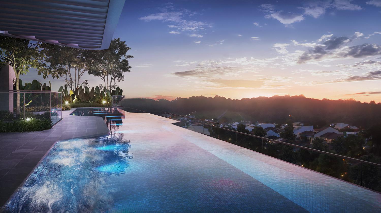 Mont Botanik Condo Rooftop Pool