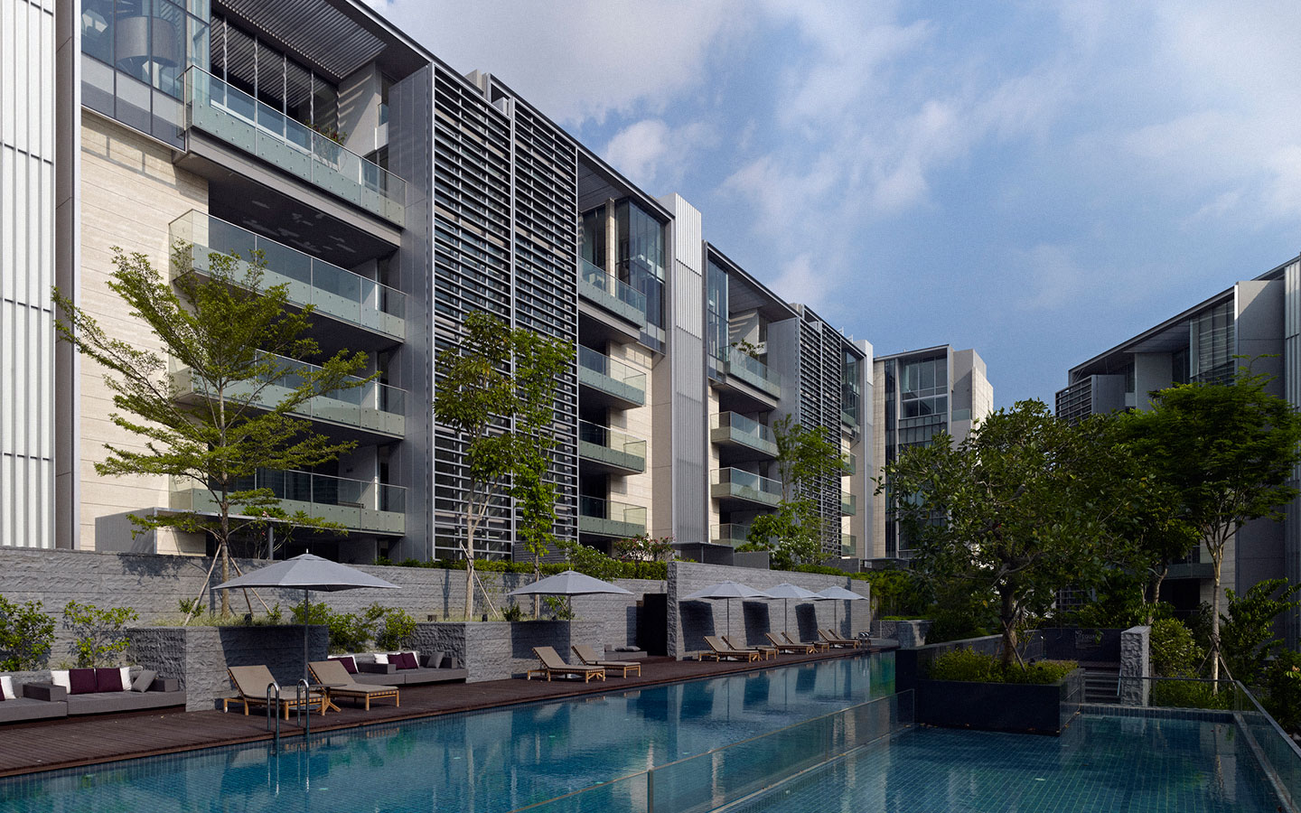 Nassim Park Residences by Kheng Leong and UOL . Developer for Avenue South Residence