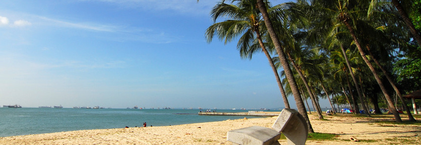 Singapore East Coast Beach