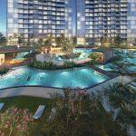 Parc Esta Condo Lagoon Pool