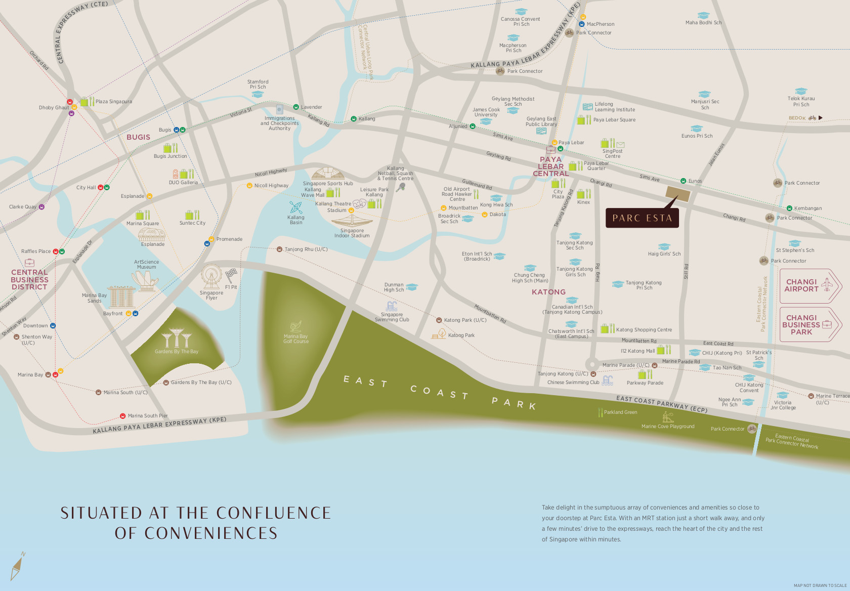 Parc Esta Location Plan