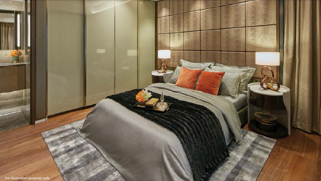 Parc Esta Showflat . Bedroom