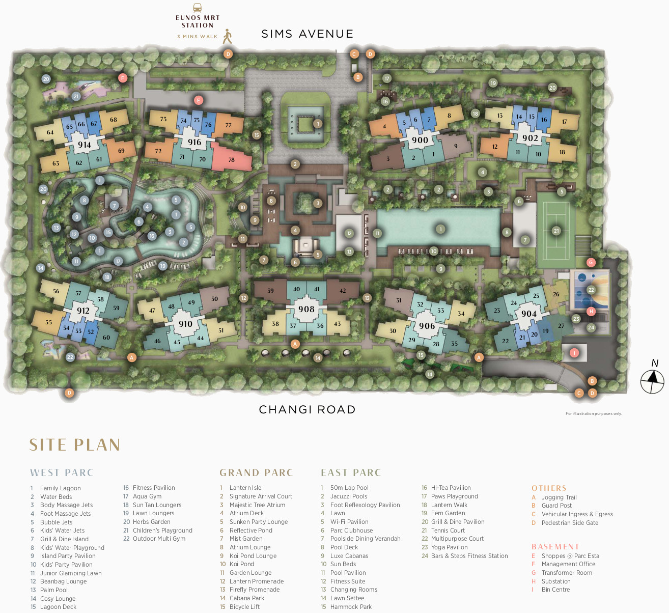 Parc Esta Site Plan Layout