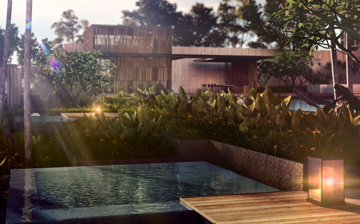 Artist's Impression . Jacuzzi Pools