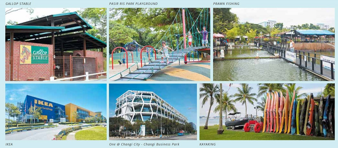 Pasir Ris Amenities around Casa Al Mare Singapore