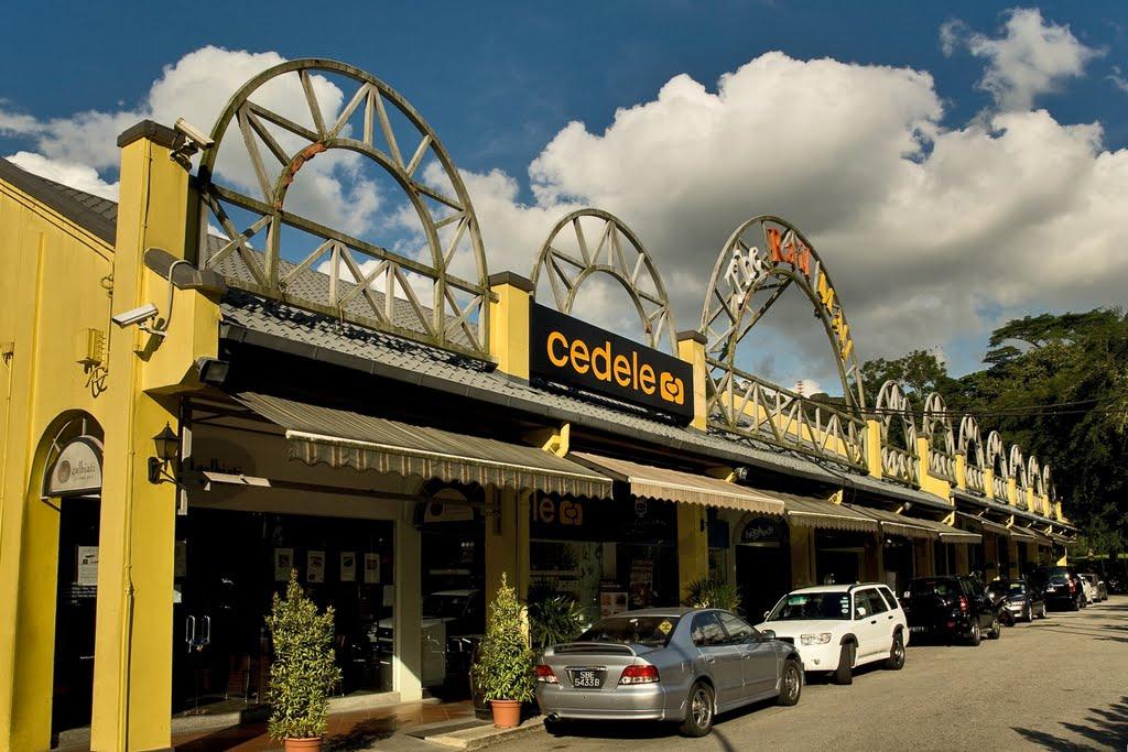 The Rail Mall near Mont Botanik Residence Location