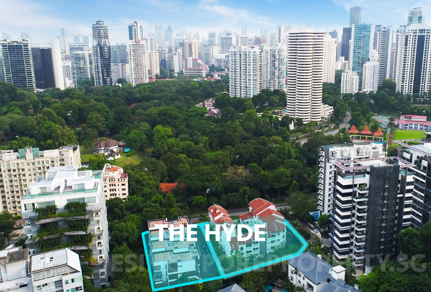 The Hyde Singapore Condo . Neighbourhood & Context of Site