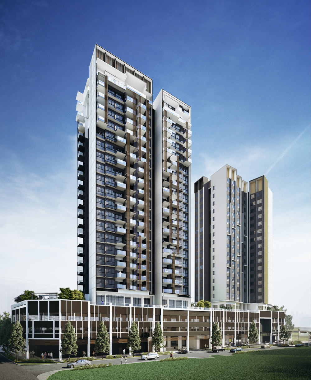 Artist's Impression . Uptown at Farrer Condo . Singapore
