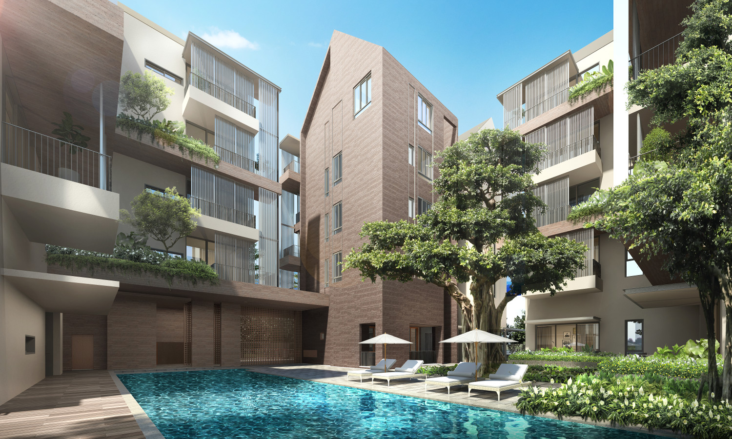Artist's Impression . The 10 Evelyn Condo Pool