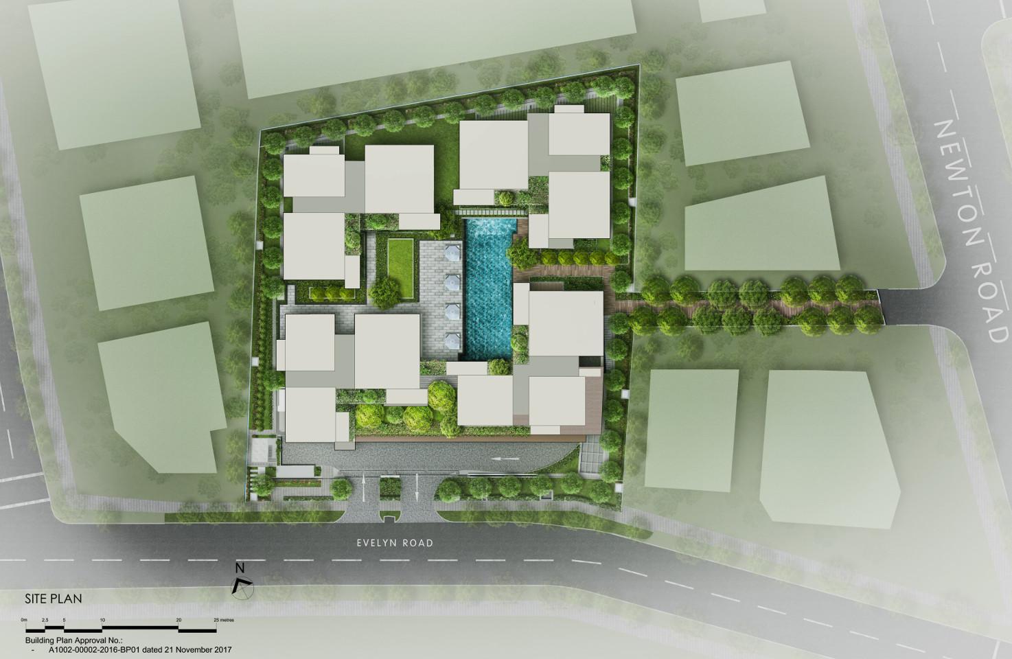 Draft 10 Evelyn Site Plan